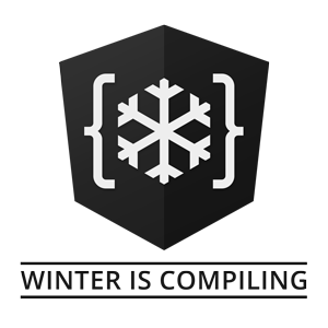 Winter Is Compiling Logo